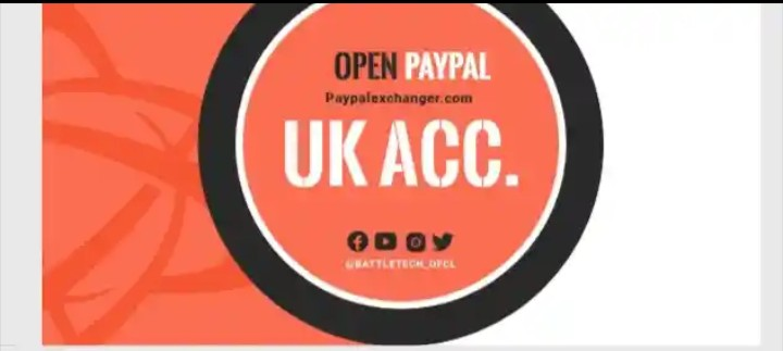 Open UK paypal account