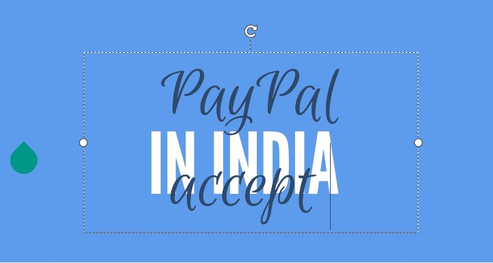 PayPal accepted sites in India